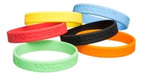 Mozzigear Bracelet en silicone Mosquito Band - 6 pièces