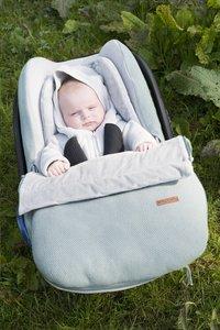 Baby's Only Voetenzak voor draagbare autostoel Classic stone green-Afbeelding 1