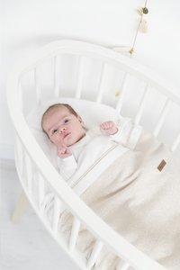 Baby's Only Deken voor wieg of park Sparkle goud-ivoor mêlee-Afbeelding 1
