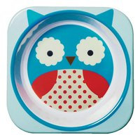 Skip*Hop Diep bord Zoo uil blauw/wit/rood