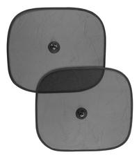 Carpoint Zonnescherm zwart - 2 stuks
