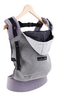 Je porte mon bebe Combidrager HoodieCarrier grey-commercieel beeld