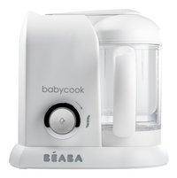Béaba Cuiseur vapeur-mixeur Babycook Solo blanc/argent-commercieel beeld