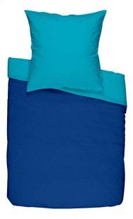 Dreambee Housse de couette pour lit Essentials bleu/turquoise  coton