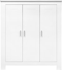 Bopita Armoire 3 portes Cobi décor blanc