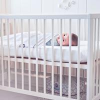 Fedde&Kees Drap pour lit Nunki B 60 x L 120 cm gris clair-Image 4