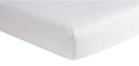 Dreambee Hoeslaken voor bed Essentials lichtgrijs katoenjersey B 70 x L 140 cm