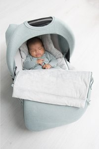 Baby's Only Capote pare-soleil pour siège-auto portable Classic stone green-Image 3