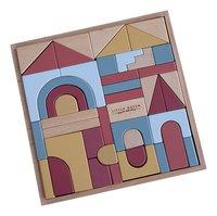 Little Dutch blocs de construction Pure & Nature - 47 pièces-Côté gauche