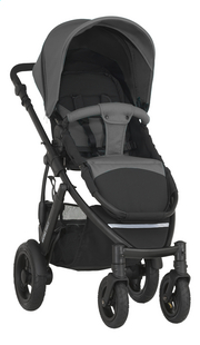 Britax Wandelwagen Smile steel grey-Linkerzijde
