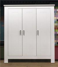 Bopita Kast met 3 deuren Cobi wit decor-Afbeelding 1