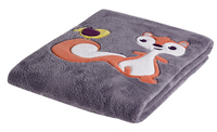Dreambee Deken voor bed Ayko taupe fleece softy