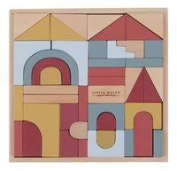 Little Dutch blocs de construction Pure & Nature - 47 pièces-Vue du haut