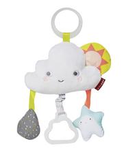 Skip*Hop Jouet à suspendre Rattle Moon Stroller Toy Silver Lining Cloud