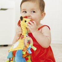 Infantino Hangspeeltje Go Gaga Playtime Pal Giraf -Afbeelding 2