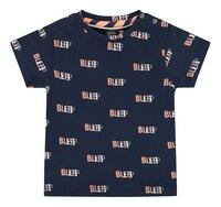 Babyface T-shirt met korte mouwen Navy-Vooraanzicht