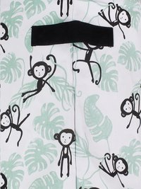 Jollein Opbergmand XL Monkey Island groen/zwart-Artikeldetail