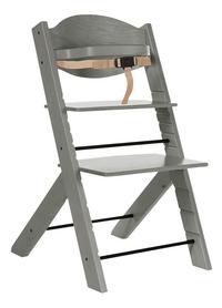 Treppy Eetstoel met gratis verkleinkussen woody gray-Artikeldetail