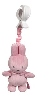 Tiamo Collection Jouet à suspendre Miffy Pink Baby rib-Avant