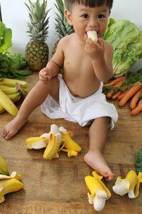 Oli & Carol Bijtspeeltje Fruit & Veggies Ana de banaan-Afbeelding 1