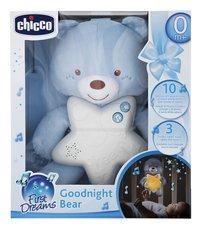 Chicco Nachtlampje Goedenacht Beer blauw-Vooraanzicht