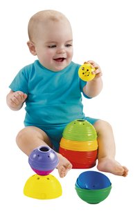 Fisher-Price Pots à empiler Stack & Roll Cups - 10 pièces-Image 1