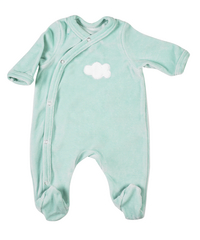 Dreambee Pyjama Essentials muntgroen maat 50/56