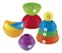 Fisher-Price Stapelpotjes Stack & Roll Cups - 10 stuks-Artikeldetail