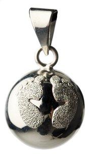 Babylonia Zwangerschapsbelletje Bola glittervoetjes zilver