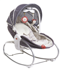 Tiny Love Relax Cozy Rocker-Napper gris/beige-commercieel beeld