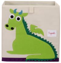 3Sprouts Boîte de rangement dragon