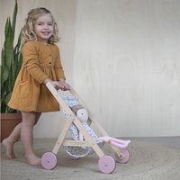 Little Dutch Houten poppenwagen Spring Flowers-Afbeelding 3