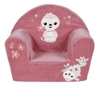 Dreambee Fauteuil pour enfant Lila & Lou Lila rose-Avant