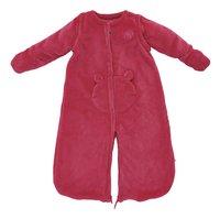 Noukie's Sac de couchage d'hiver Groloudoux velours framboise 70 cm