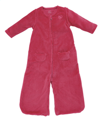 Noukie's Sac de couchage d'hiver Groloudoux velours framboise 90 cm