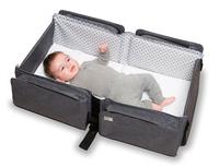 doomoo basics Sac à langer Baby Travel gris anthracite chiné-Image 3
