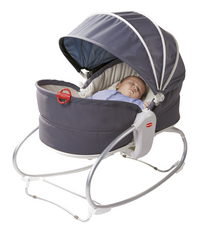 Tiny Love Relax Cozy Rocker-Napper gris/beige-Image 1