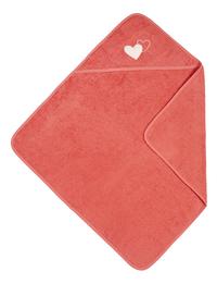 Dreambee Cape de bain Essentials coeur rose foncé Lg 80 x L 80 cm-Détail de l'article