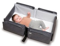 doomoo basics Verzorgingstas Baby Travel chiné antraciet grijs-Afbeelding 4