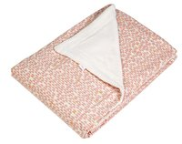 Trixie Deken voor bed Pebble Pink fleece