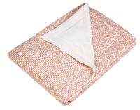 Trixie Couverture pour lit Pebble Pink polaire