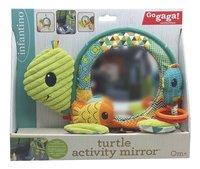 Infantino Activiteitenspeeltje Go Gaga Turtle Activity Mirror-Vooraanzicht