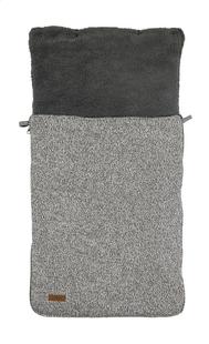 Jollein Voetenzak voor draagbare autostoel stonewashed knit grey