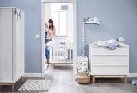 Troll Chambre de bébé 3 pièces avec armoire 2 portes Scandy-Image 1