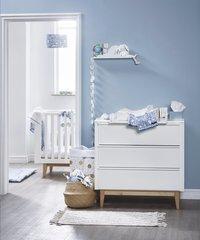 Troll Chambre de bébé 3 pièces avec armoire 2 portes Scandy-commercieel beeld