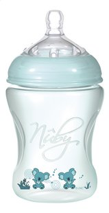 Nûby Biberon Natural Touch 240 ml vert