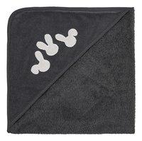 Dreambee Cape de bain et gant de toilette Nino gris foncé-commercieel beeld