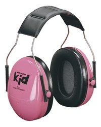3M Casque antibruit Peltor Kid rose-Avant