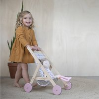 Little Dutch Houten poppenwagen Spring Flowers-Afbeelding 2