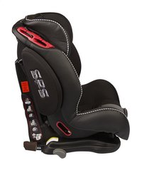 Dreambee Autostoel Essentials IsoFix Groep 1/2/3 zwart-Linkerzijde